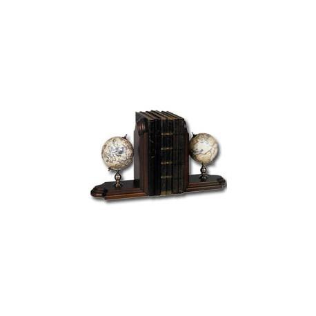 Globes serre livres Céleste et Terrestre - 9663