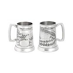 Chope à bière Trafalgar en étain - 3142