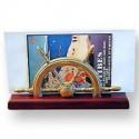 Porte-courrier barre à roue - 9669