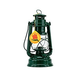 Lampe tempête lanterne VERTE - 3173 VERTE
