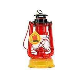 Lampe tempête marine Tricolore Noir rouge jaune - 3177D NOIR ROUGE JAUNE