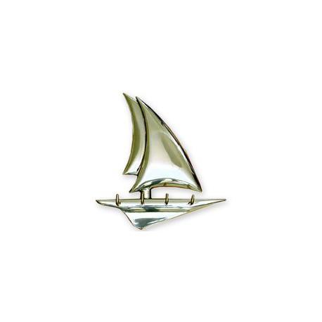 Accroche-clés voilier design - 9672 LAITON