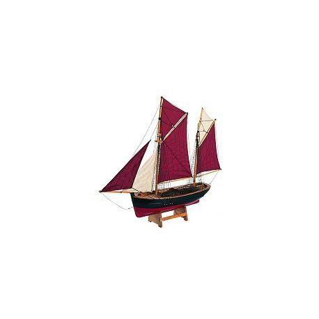 Maquette de bateau Chalutier de Brixam - 3198