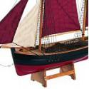 Echantillon Maquette de bateau Chalutier de Brixam - 3198
