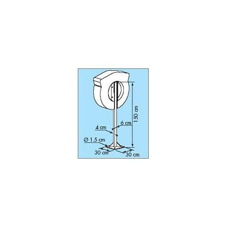 Poteau pour coffre bouée couronne SOLAS STANDARD - 3220B