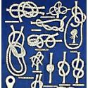 Echantillon Torchons Marine noeuds marins lot de 2 - 9444 lot de 2 torchons