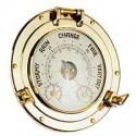 Baromètre, thermomètre et hygromètre hublot - 94961BARO+
