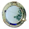 Miroir hublot ouvrant laiton Nemo - 9502 47 cm
