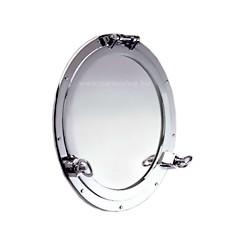 Miroir hublot ouvrant chromé Nemo - 9502CR 47 cm