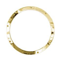 Hublot cadre laiton 26,3 à 46,8 cm - 9506A laiton Ø 26,3 cm