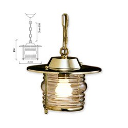 Suspension de cuisine CASSIS laiton - 9559
