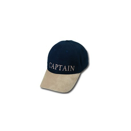 Casquette yachting CAPTAIN bleue marine - 9788