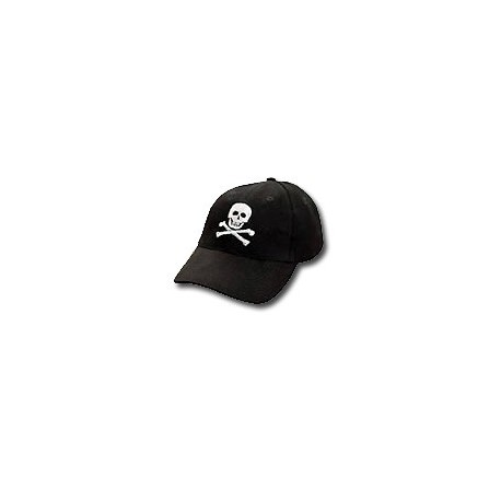 Casquette yachting Pirates noire - 9789