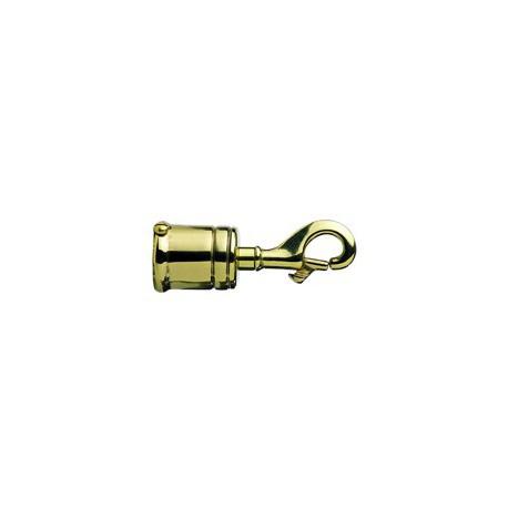 Attache mousqueton pour corde 24 mm - 9791 CHROME