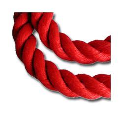 Corde de rampe d'escalier polyester Rouge - 9793A ROUGE