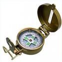 Compas de relèvement métal doré - 9801