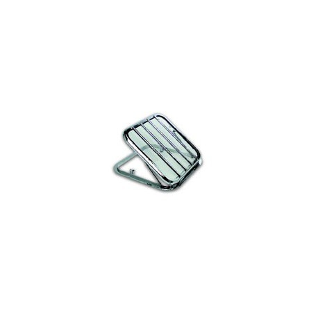 Panneau de pont ouvrant avec grille - 9804A chromé verre clair