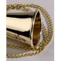 Echantillon Corne de brume en laiton - 9811