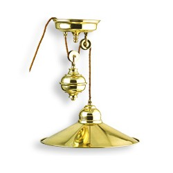 Lampe de salon laiton HARTPOOL - 9975
