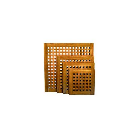 Caillebotis en teck pour douche - A1012 60x60 cm