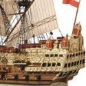 Echantillon Maquette de bateau Voilier SOVEREIGN - 7635