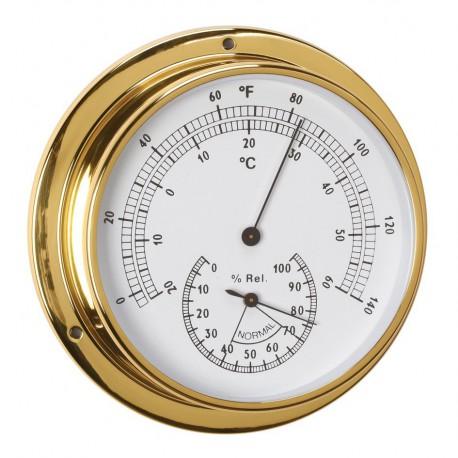 Thermomètre Hygromètre diamètre 120 mm