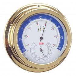 Thermomètre Hygromètre MARINE diamètre 150mm