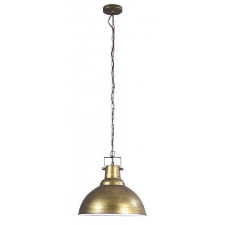 suspension traditionnelle bronze vieilli