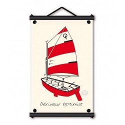 Marineshop - Optimist - Rouge - Toile