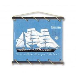 Marineshop - Belem - Bleu - Petit Modèle - Toile