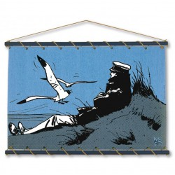 Marineshop - Corto sur la dune - Bleu - Toile