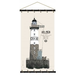Marineshop - Phare Ar-Men - Toile