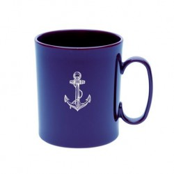 Mug du Pacha en mélamine bleu - Marineshop
