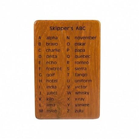 L'alphabet international du skipper - Marineshop