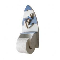 Porte rouleau de papier hygiénique, ancre