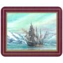 Set de 6 dessous de verres Grand Voiliers Explorateurs - Endurance, Shackleton - Marineshop.biz
