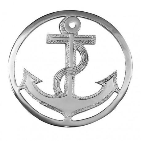 Dessous de plat ancre - Chrome - Marineshop.biz
