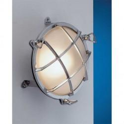 Lampe hublot applique Bretagne - Chromé - Marineshop