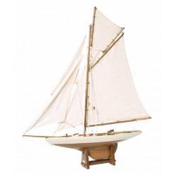 Maquette de bateau America's Cup Voilier - 55cm