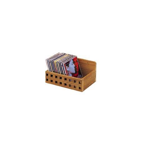 Rangement CD en teck - 3343