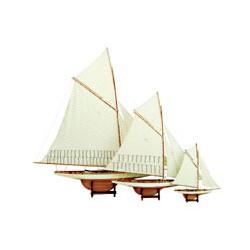 Maquette de bateau America's Cup Voilier - 3188