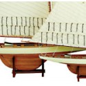 Echantillon Maquette de bateau America's Cup Voilier - 3188
