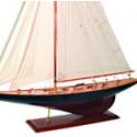 Echantillon Maquette de bateau Voilier America's Cup J-Class - 3192A