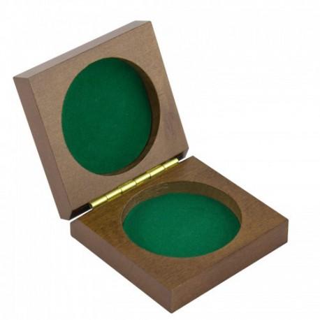 Boîte en bois pour boussole