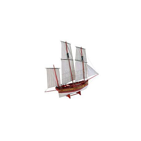 Maquette de bateau Voilier Le Coureur - 3196