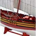 Echantillon Maquette de bateau Voilier Le Coureur - 3196