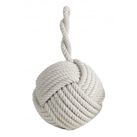 Monkey Fist Doorstop, Cotton