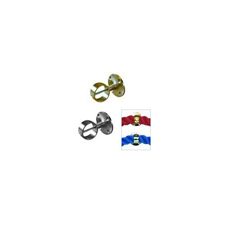 Intermédiaire pour cordage 24 mm - 8056 CHROME