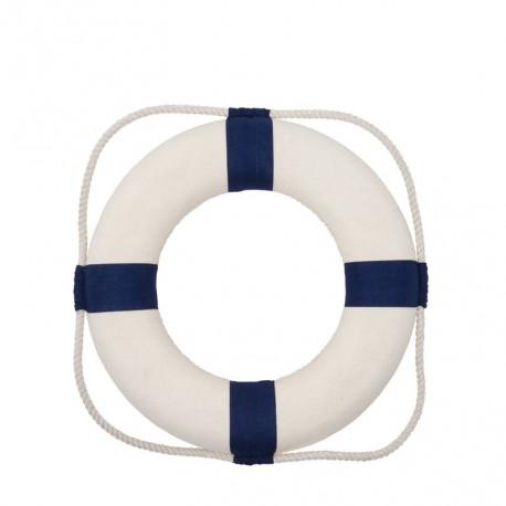 Bouée de Sauvetage Bleu/Blanc - dia 35cm