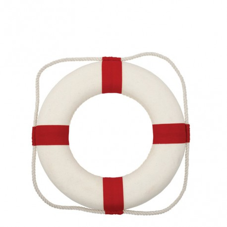 Bouée de Sauvetage Rouge/Blanc - dia 35cm
